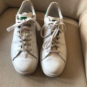 adidas Shoes - Adidas skateboarding Stan Smith green white